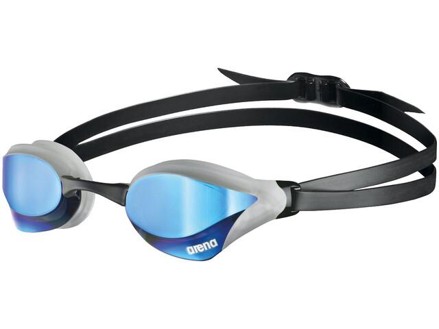 arena Cobra Core Swipe Mirror Schwimmbrille blue/silver